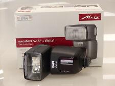 METZ mecablitz 52 AF-1 digital für Sony ( neuer Blitzschuh ) ! 52AF1 ! NEU&OVP