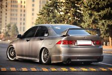 Rear Lip(Pad) Mugen Style for Honda Accord 7 VII / Acura TSX CL 2006-2008
