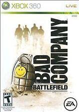Battlefield: Bad Company (Microsoft Xbox 360, 2008)