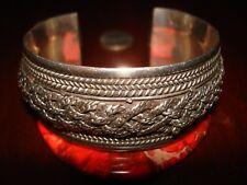 Amazing Massive Antique/Vintage Sterling Silver Cuff Bracelet.925 (70gr.)