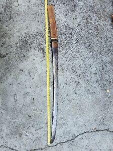 Antique japanese samurai sword