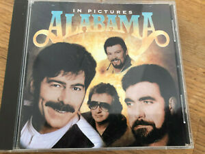 """US Country Music CD ALABAMA """" Pictures""""  Top Nashville Album"""