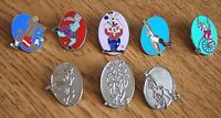 Eight Disney Pins - Hidden Mickeys