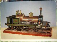 Postcard Transport Railway Tank locomotive Dubline and Kingstown 1851 - unposted