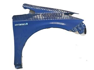 Toyota Prius MK3 2009-15 ZVW30 O/S Right Driver Side Front Wing Blue