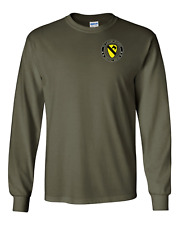 1st Cavalry Division Long-Sleeve Cotton Shirt -12394