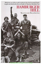 HAMBURGER HILL MOVIE POSTER Original 27x41 NEAR MINT  Rolled 1987 War Film