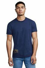 TRUE RELIGION Men's Navy Crew Neck Snake Skull Print T-shirt M RRP59 BNWT