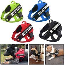 Cachorro de Estimação reflexivo serviço treinamento Colete Peitoral Ajustável Pequeno Médio Grande