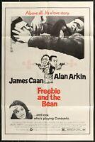 FREEBIE AND THE BEAN Alan Arkin ORIGINAL 1984  1-SHEET MOVIE POSTER 27 x 41