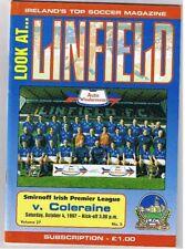 Linfield v Coleraine 1997/8 Irish League