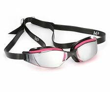 MP Michael Phelps Xceed Ladies Swimming Goggles - Mirrored Lens - Pink Black