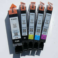 Canon OEM Genuine PGI-270 & CLI-271 Colors (CMY) and PGI/CLI Black Ink Cartridge