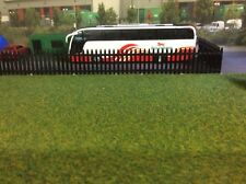 3d Printed Security Fence Would Suit 1/76 ,00 Gauge (Black) 6pkt