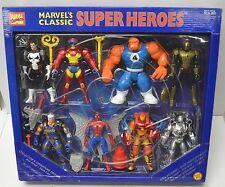 Marvel Comics classic action figure box set Punisher Cable Wolverine NIP 1996
