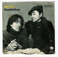 "John LENNON Beatles & Yoko ONO Vinyl 45T 7"" WOMAN - BEAUTIFUL BOYS -GEFFEN 49195"
