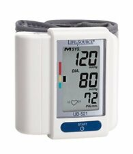 3 Pack Life Source Digital Wrist Blood Pressure Monitor Easy to Use and Accurate