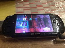 PSP 2004 Schwarz mit 2Spiele Ohne akku und ohne Ladekabel