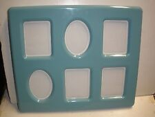 """NEW TUPPERWARE 6 photo Picture Frame green 10"""" X 12"""""""