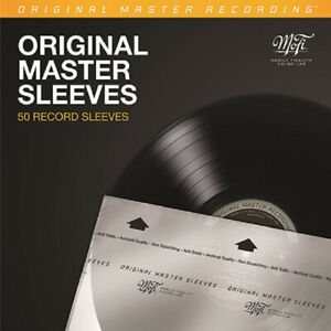 50 Mobile Fidelity (MoFi) MFSL Master Record Inner Sleeves