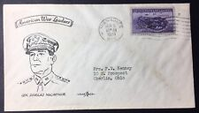 U.S. Army Patriotic Cover: Gen. MacArthur, posted at Milwaukee, WI, Jun 6, 1951