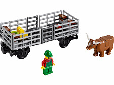 New LEGO City Cattle Wagon only from Cargo Train 60052