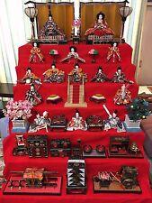 Japanese Hina-dalls set  set of tools and dolls!