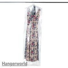 Hangerworld™ 12 Housses de Protection Polyéthylène Transparent pour Robes 183cm
