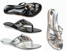 Damen-Sandalen & -Badeschuhe aus Synthetik mit Glitzer für die Freizeit