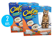 2 Pack - Citikitty Cat Toilet Training Kit - Save $