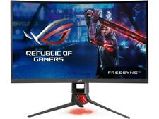 "ASUS ROG Strix XG27VQ 27"" FreeSync 144Hz Curved Gaming Monitors with Aura RGB li"