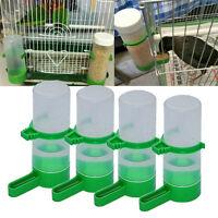 4Pcs Pet Bird Tube Feeder Drinker Aviary Budgie Cockatiel Lovebirds Waterer Best
