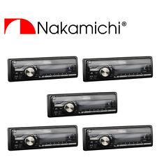 Wholesale Lot (5) NAKAMICHI Bluetooth/USB Receiver 50W x 4 Channels AM/FM NA851