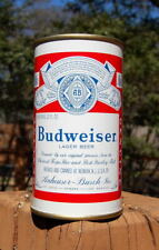 New listing World's Cleanest Newark 3-City Budweiser Flat Top Beer Can! Vanity Lid Bo'ed!