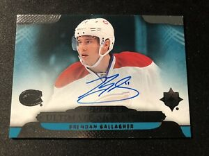 2013-14 Brendan Gallagher Ultimate Rookie Signatures