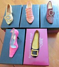 Just the Right Shoe Lot of 5 Scandalous Promenade Baroness Afternoon Tea Patent