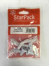 Starpack Spare Cord Pull For Ceiling Switch. Qty:2, 72748