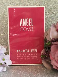 MUGLER ANGEL NOVA EDP REFILLABLE STAR💝30ml New, Boxed and Sealed