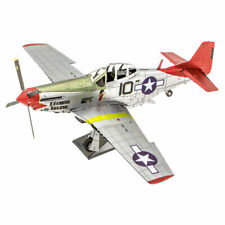 Metal Earth: Iconx Tuskegee Airment P-51D Mustang