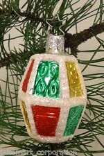 Lamp Inge-Glas Ornament Germany Glass