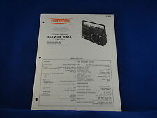 Superscope CR-800 Service Manual