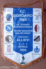 ✅Gagliardetto Calcio BORGARO Torneo Allievi 1999 -vintage-pennant wimpel fanion