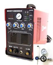 Plasma Cutter Simadre 5200DX 50A Argon Regulator 200A Tig Arc Mma Welder 110/220