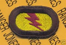 75th Inf Airborne Ranger LRP LRRP para oval patch #12