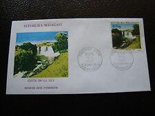 MADAGASCAR - enveloppe 17/9/75 - chute de la lily - yt n° 572 - (cy8) (Z)