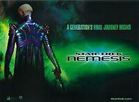 Star Trek Nemesis movie poster  : 12 x 16 inches : Patrick Stewart (advance)