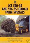Farm Tractor Brochure - JCB - 520-55 526-55 - Loadall Farm Special - 1994 (FB57)