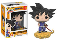 "DAMAGED BOX DRAGONBALL GOKU & FLYING NIMBUS 3.75"" VINYL POP FIGURE FUNKO"