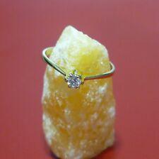 Ring Damenring 56 (17,8 mm Ø) 585/14K Gold mit Diamant 0,11ct