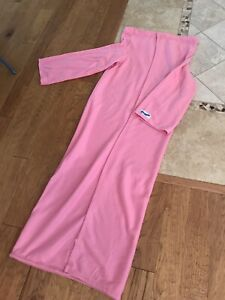 SNUGGIE Blanket With Sleeves Pink Breast Cancer Awareness Super Soft Fleece